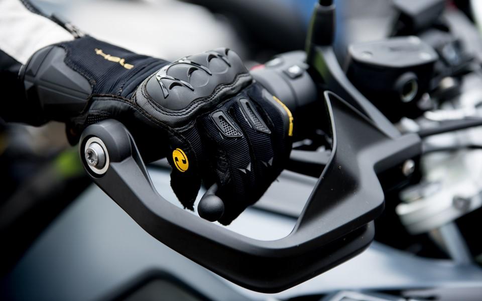 Motorprofessional detail handschoen